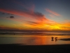 The Sunset at Playa Maderas Beach...