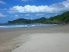 The soft sand in San Juan Del Sur...